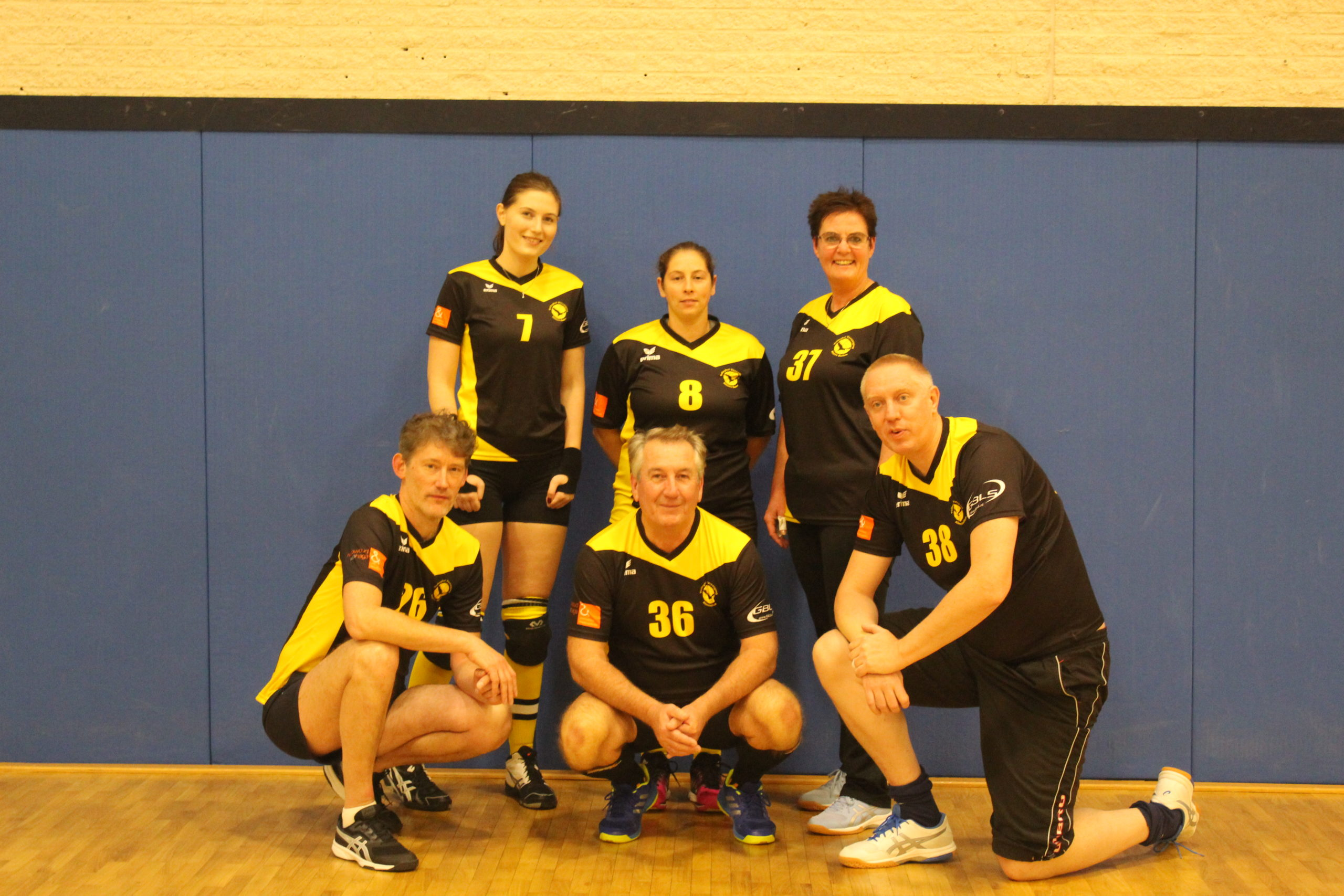 Recreanten volleybal mix team 4